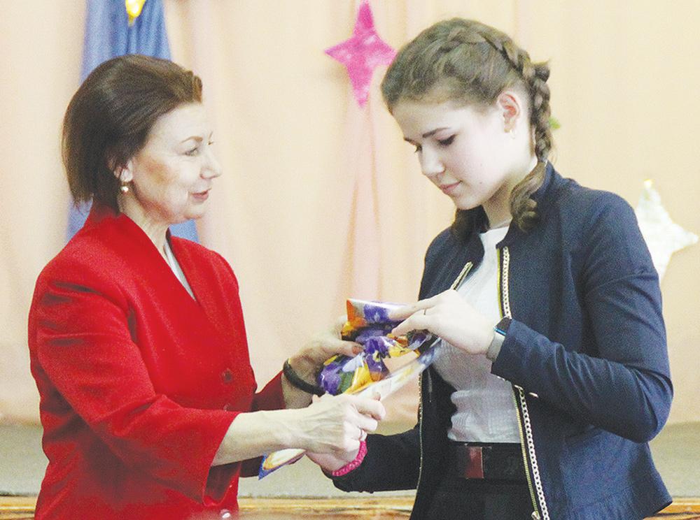 В Жарковском районе наградили способных школьников
