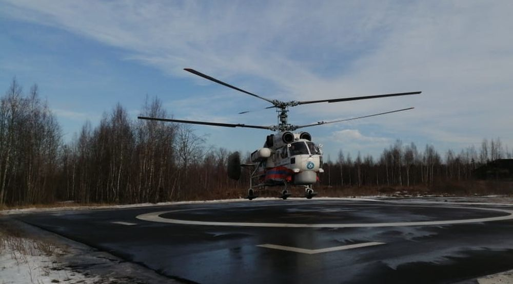 Вертолет санавиации доставил пациентку в Тверь
