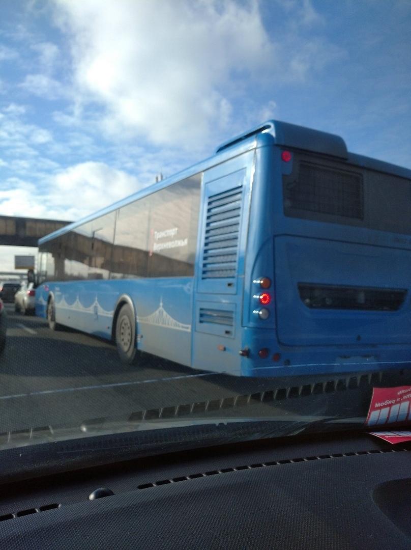 Автобусы новой транспортной системы Твери замечены в Москве