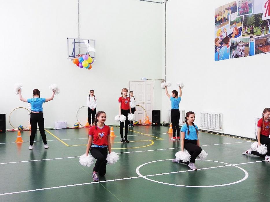 В калязинской школе отремонтировали спортивный зал