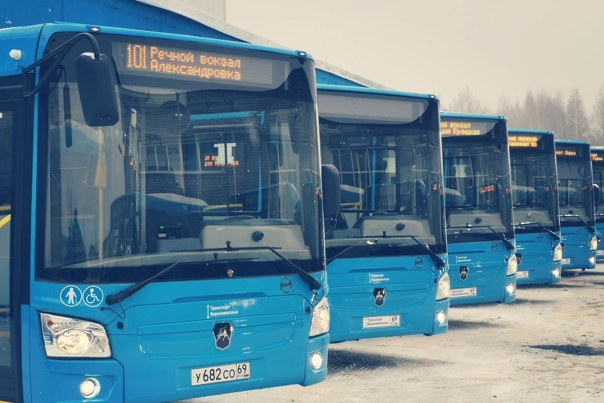 Свыше 63 тысяч человек перевезено автобусами новой системы  с начала работы в Твери и Калининском районе