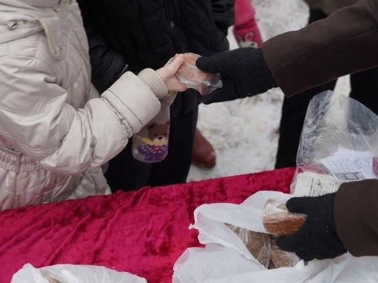 В Оленинском районе Тверской области прошла акция «Блокадный хлеб»