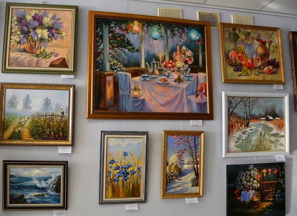 В Тверской области открылась непрофессиональная выставка