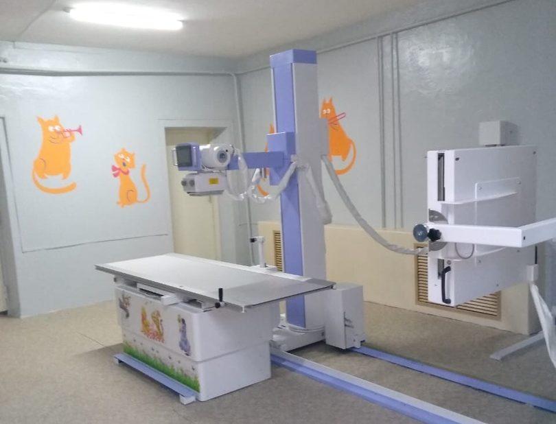 В детские поликлиники Тверской области установлены новые рентгеновские комплексы