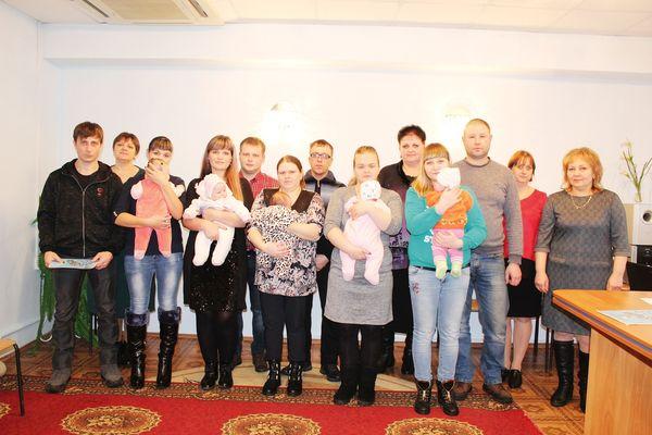 В ЗАГСе Сандовского района вручили медаль «Рожденному в Тверской области»