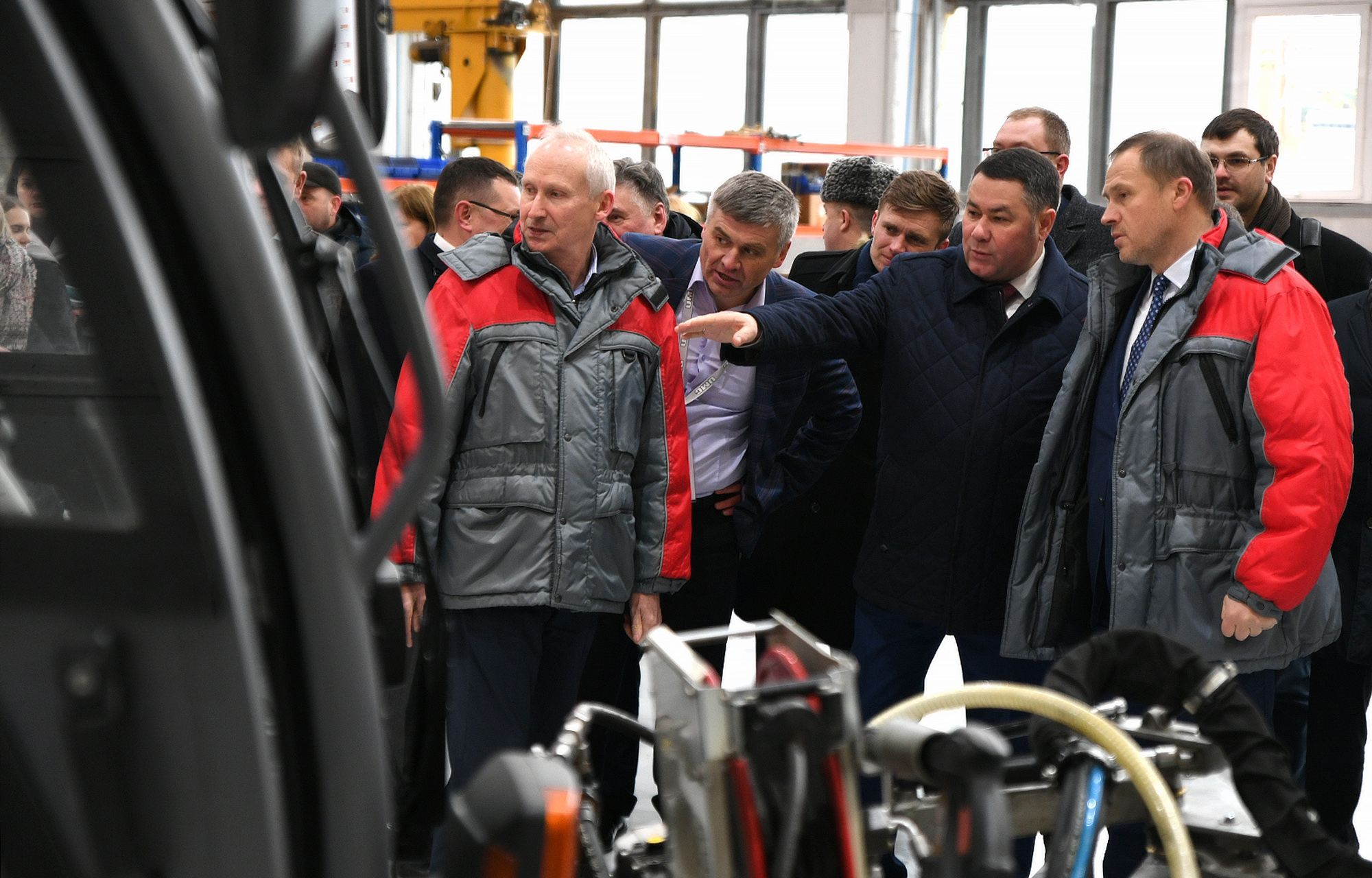 Губернатор Игорь Руденя посетил «Тверской экскаватор»