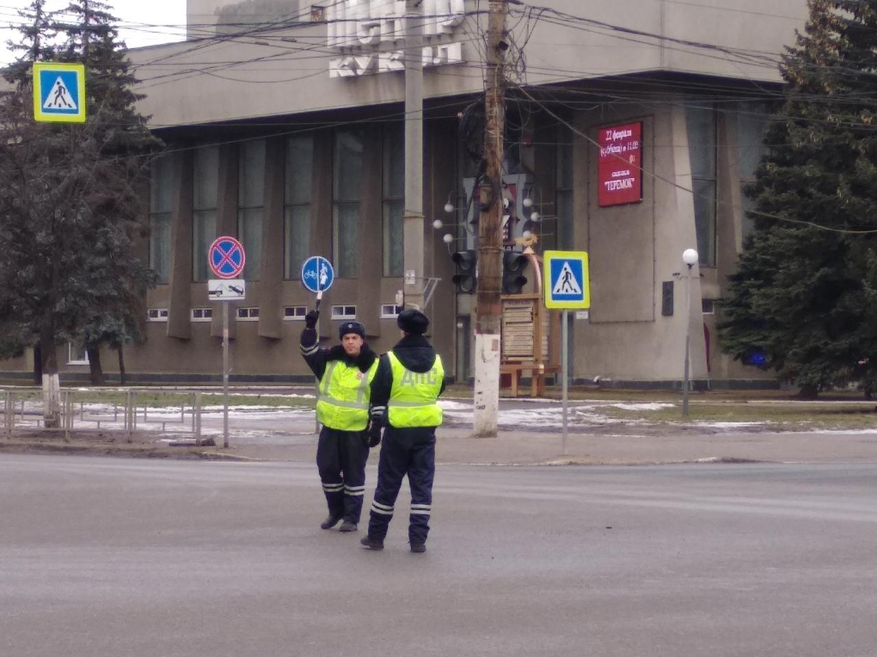 В Твери на оживленном перекрестке не работает светофор