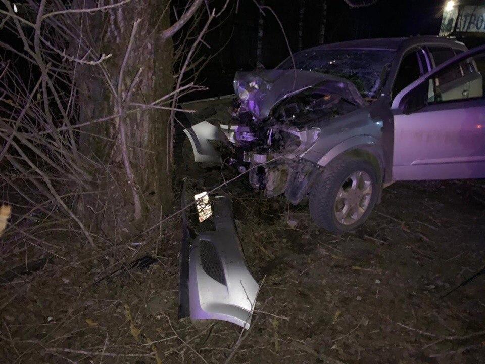 Водитель погиб при столкновении с деревом в Тверской области