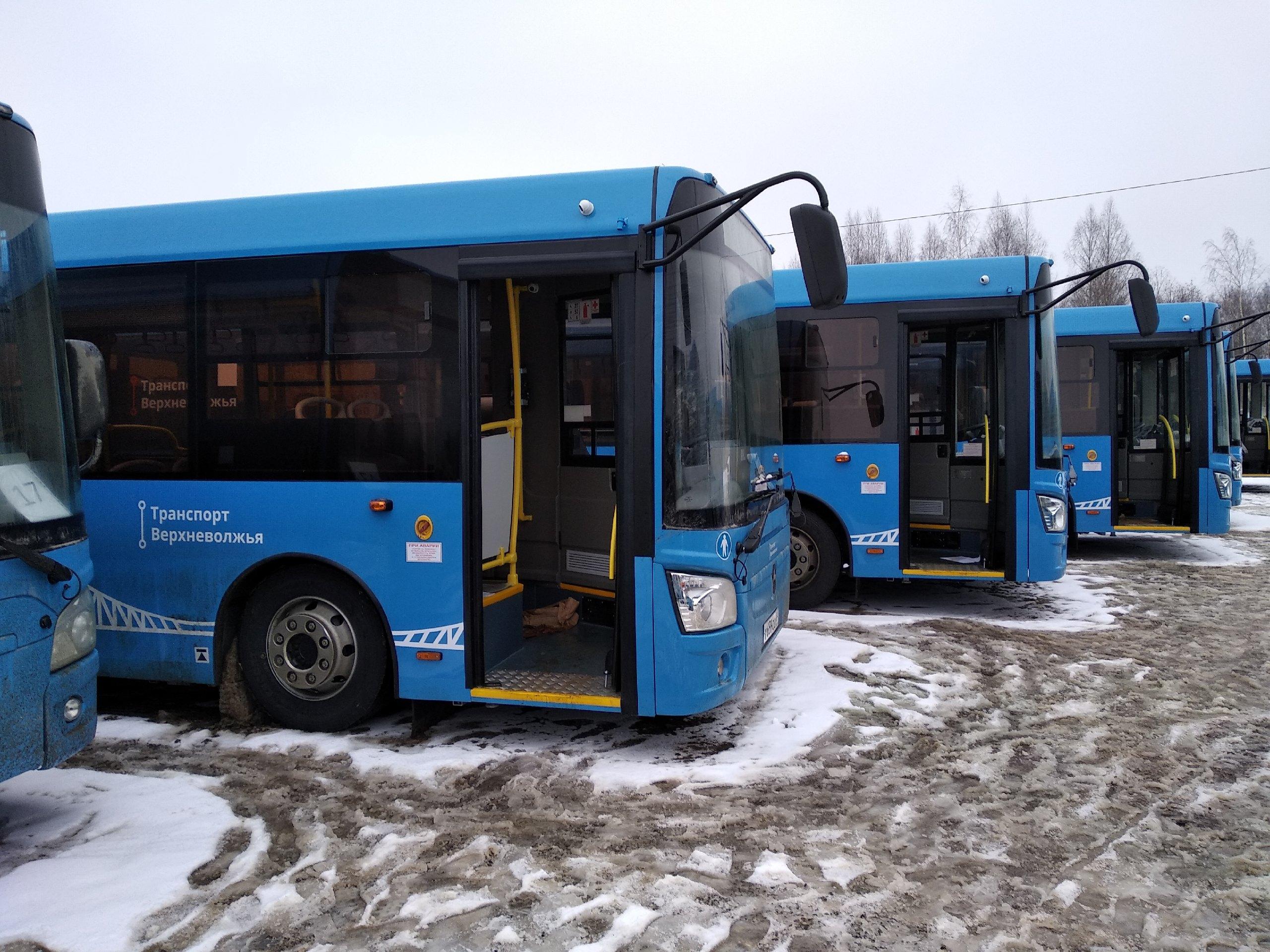 Автобусы новой транспортной системы Твери вышли на 154 маршрут