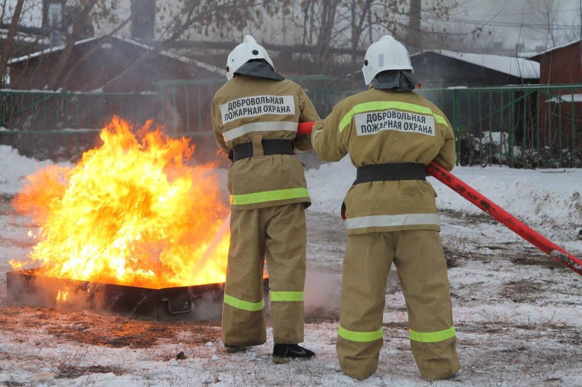 Пожарных-добровольцев вТверской области усилили новой техникой