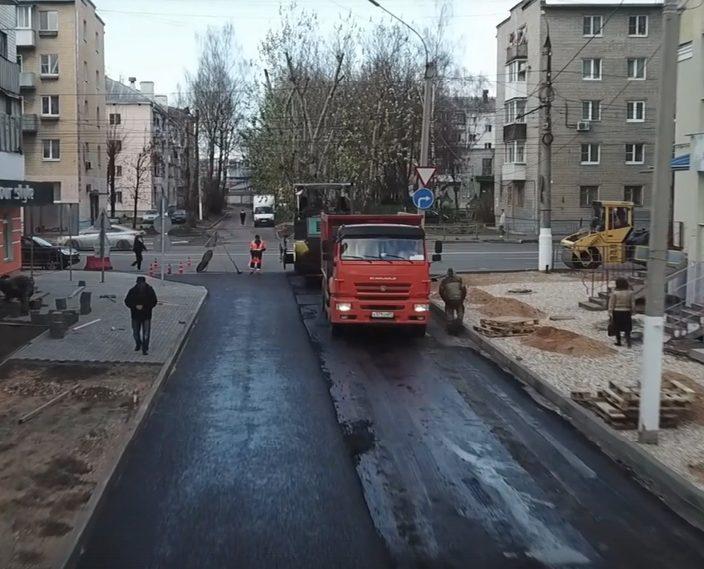 Тверские власти сняли видео о технологии ремонта дорог в 2020 году