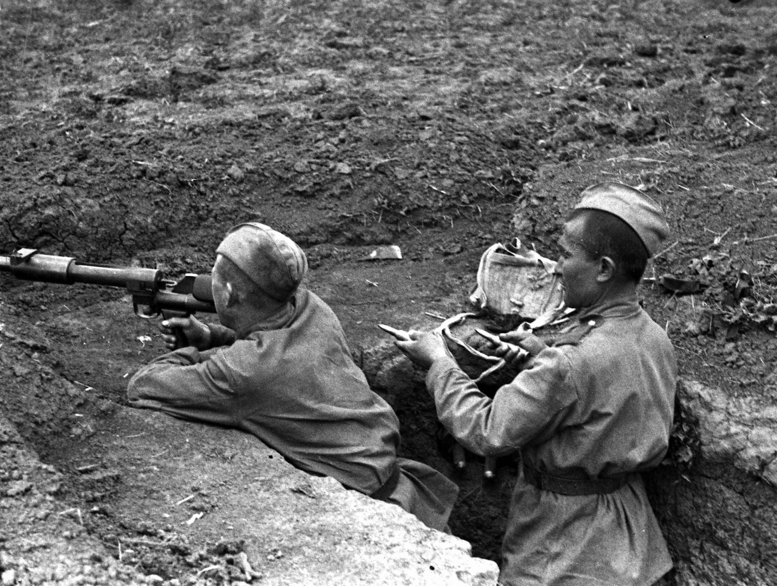 В Твери представлены уникальные снимки времен Великой Отечественной войны