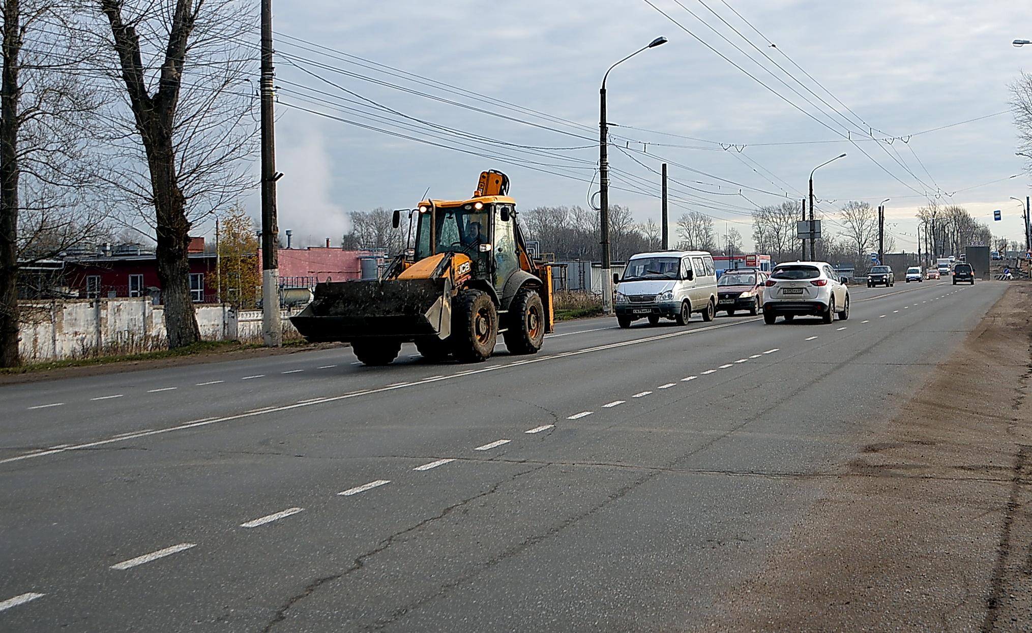 В мае в Твери отремонтируют Московское шоссе