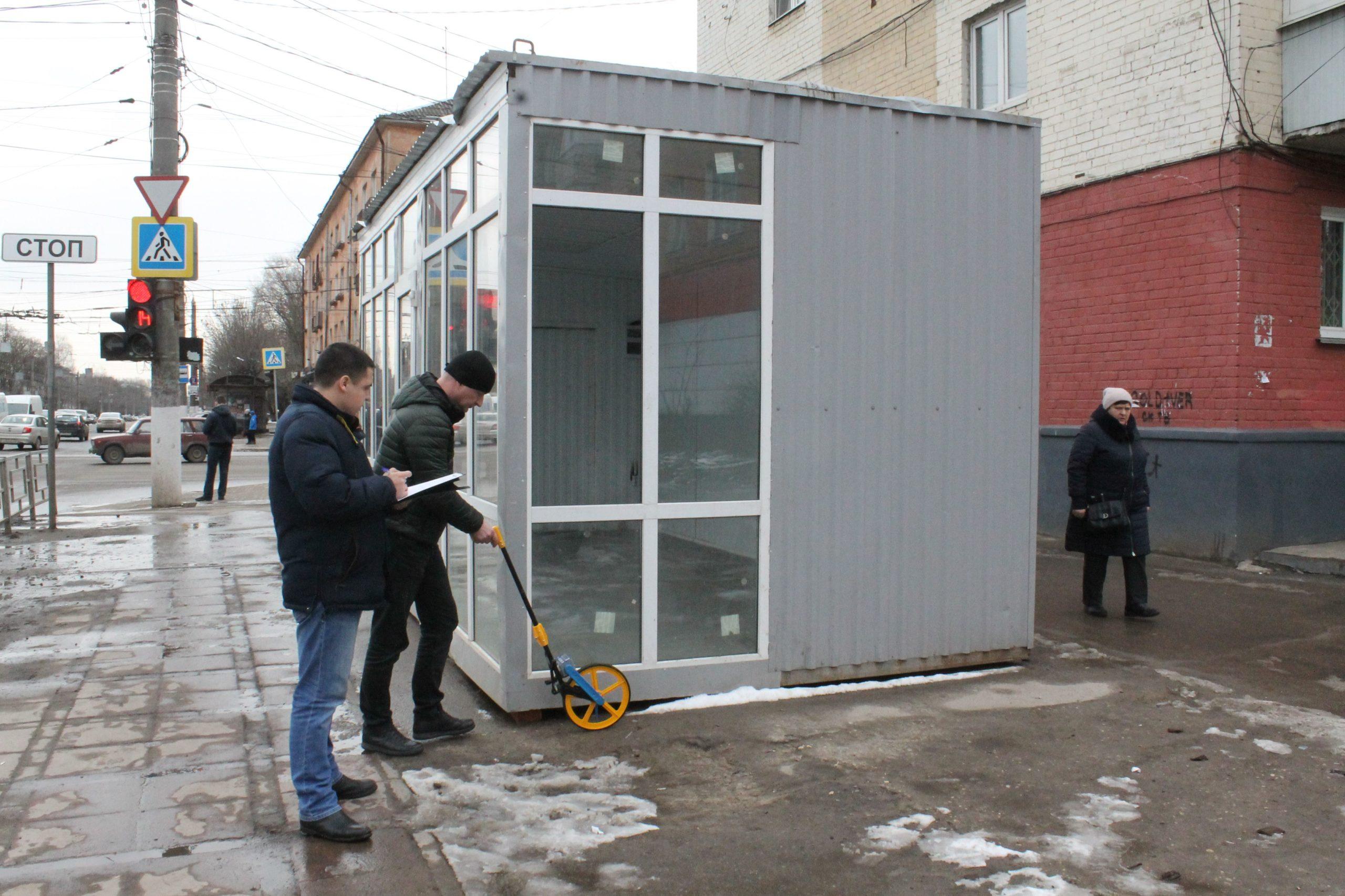 В Твери могут демонтировать торговый павильон на Волоколамке