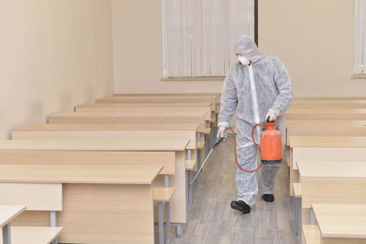 В Тверской области прошла масштабная дезинфекция помещений