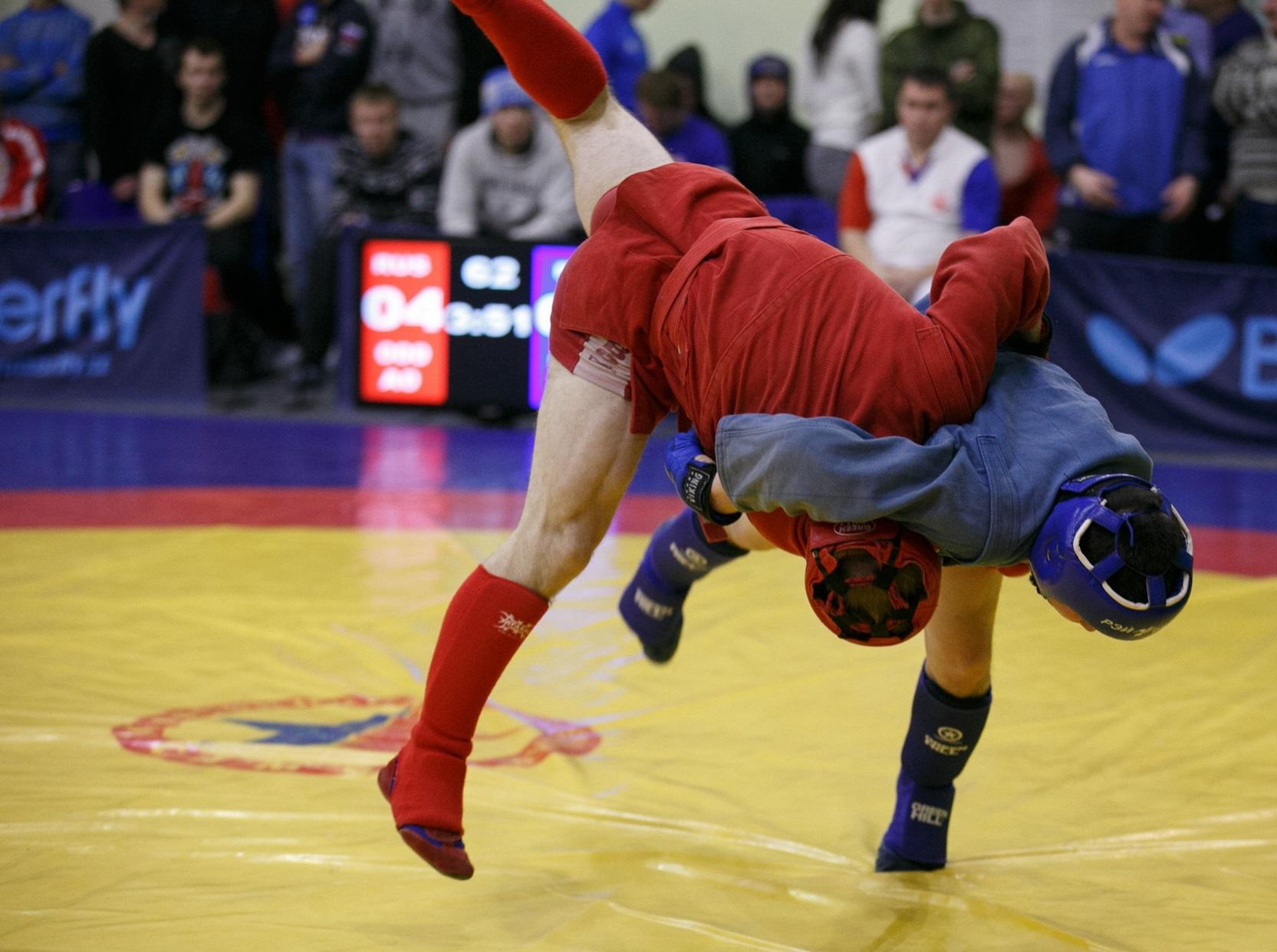 Спортсмены из Конаково стали чемпионами по боевому самбо