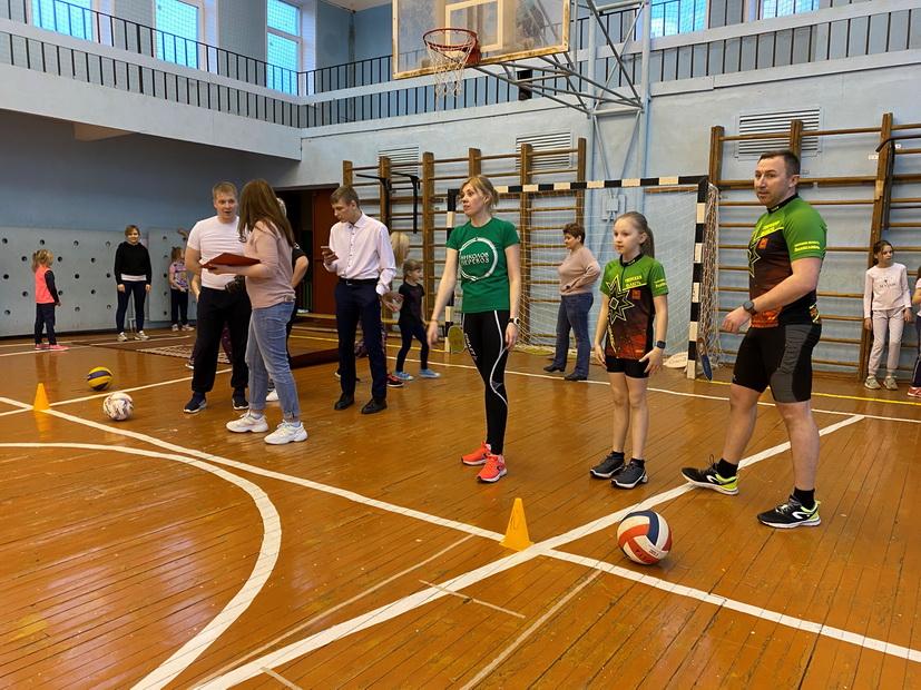 В Лихославле выбрали самые спортивные семьи