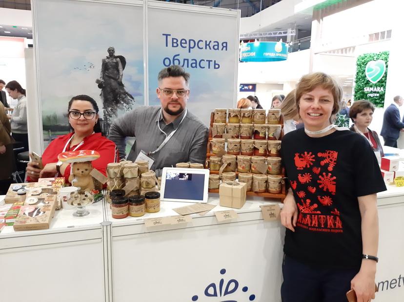 Гостей «Интурмаркета» покорил стенд Лихославльского района