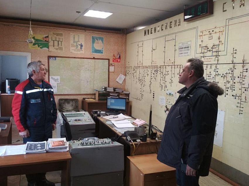 Александр Пилюгин провел проверку готовности производственных подразделений Тверьэнерго
