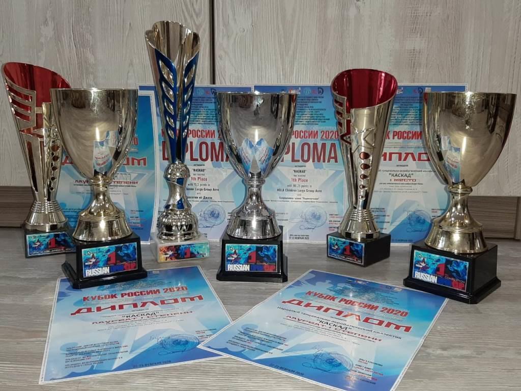 Тверские акробатки стали лучшими на Кубке России