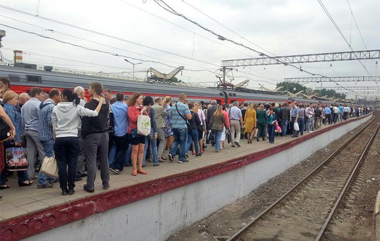 Электрички по направлению Москва-Тверь будут отменяться