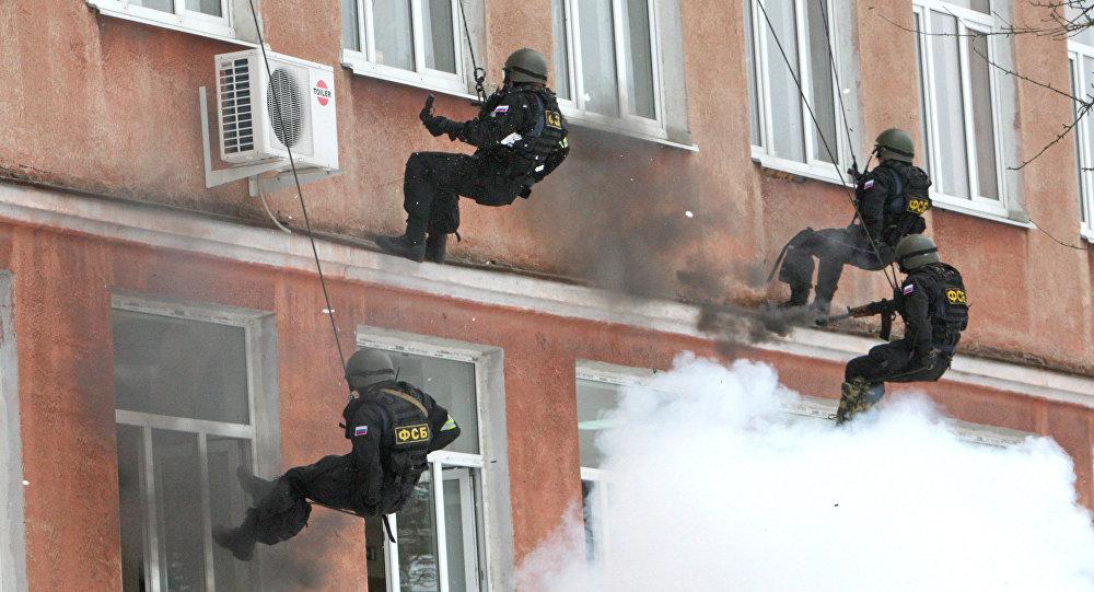 Террористы были пойманы и обезврежены в Твери