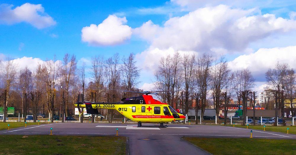 В Тверь вертолетом экстренно доставили трех тяжелых пациентов