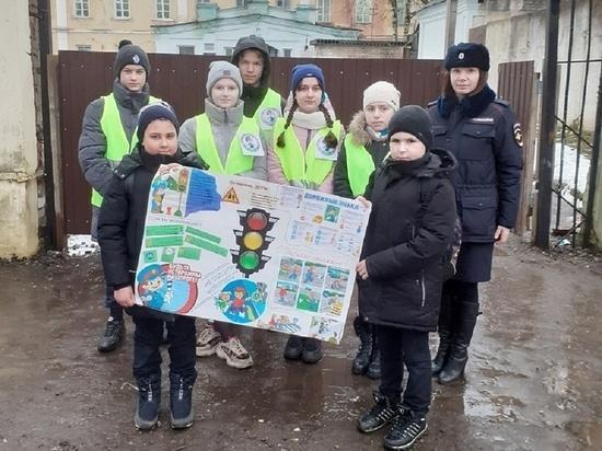 В Тверской области на дороги вышли несовершеннолетние инспекторы ГИБДД