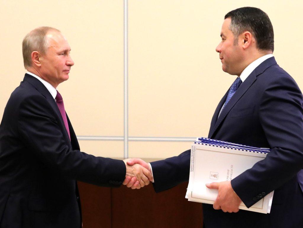 Игорь Руденя и Тверская область: 11 топовых фото губернатора
