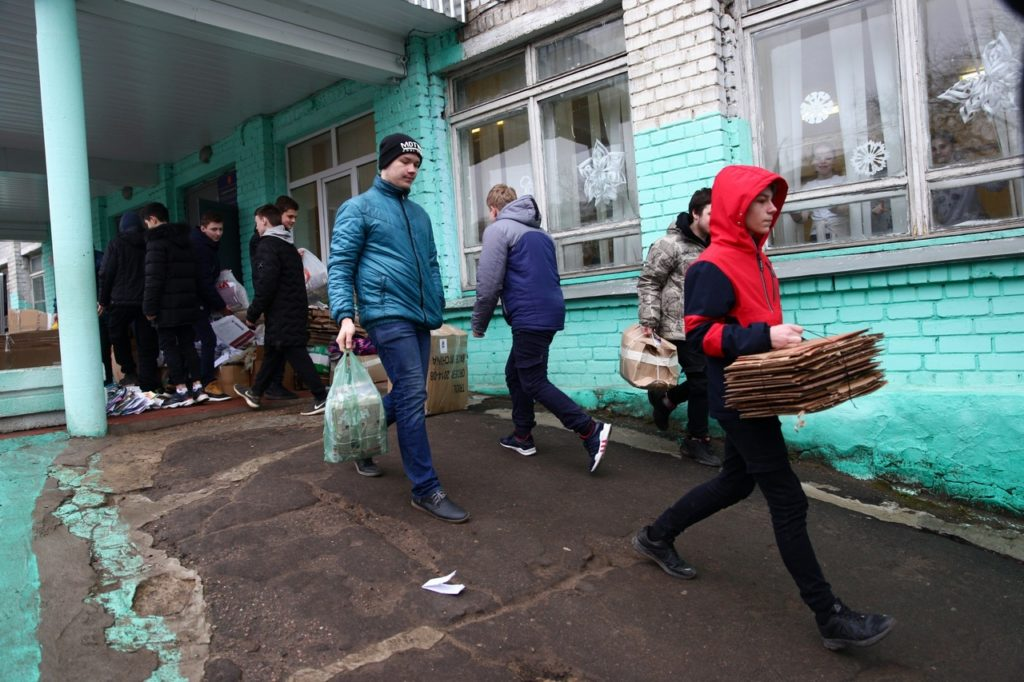 Тверские школьники собирают макулатуру, чтобы снять фильм о родном крае
