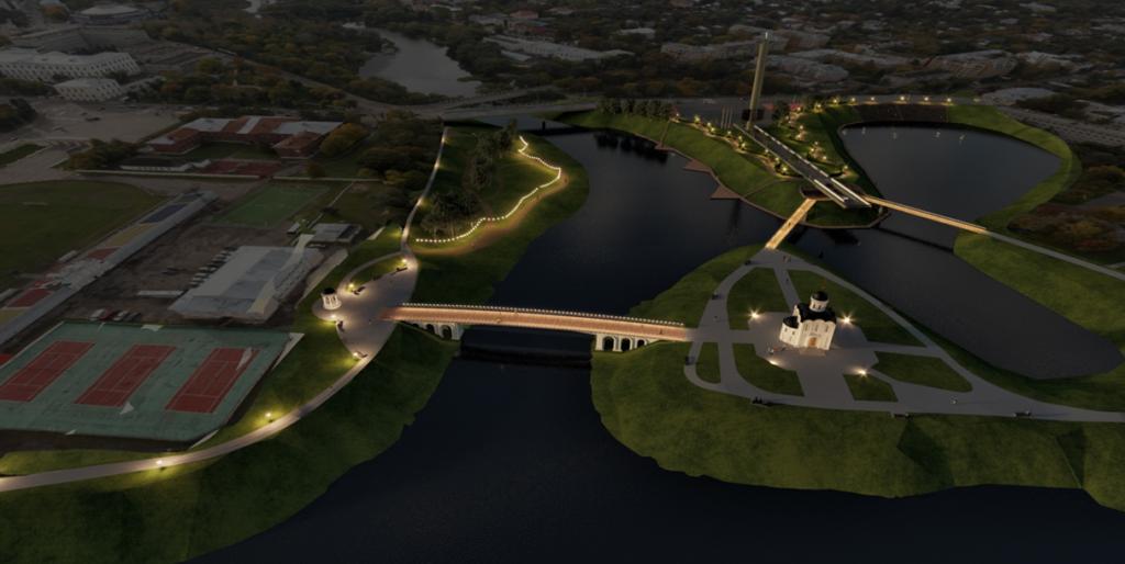 В Твери началась подготовка к строительству моста через Тьмаку