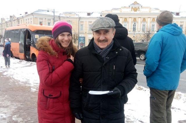 Леонид Каневский приехал в Тверь для съёмок документального телесериала