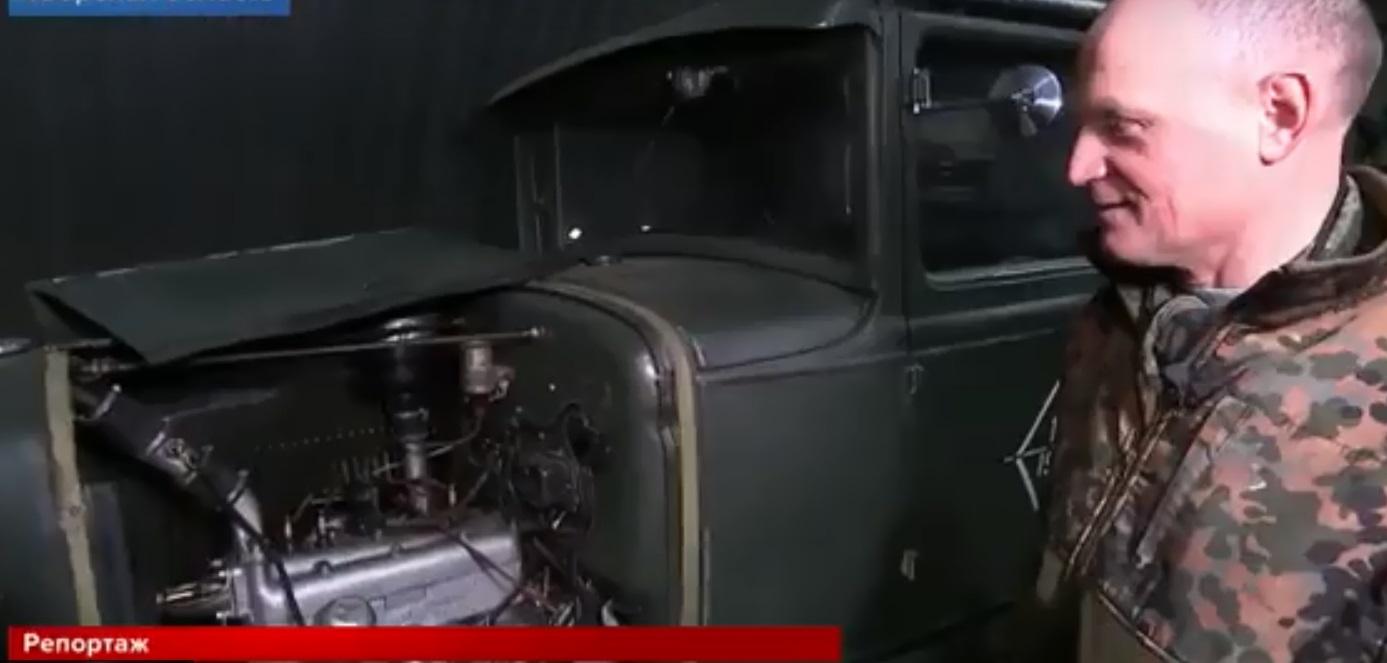 Первый канал снял репортаж о коллекционере из Тверской области