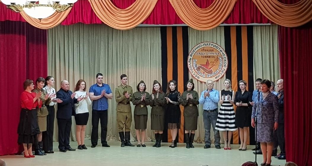 Солист из Торопецкого района стал победителем фестиваля военно-патриотической песни