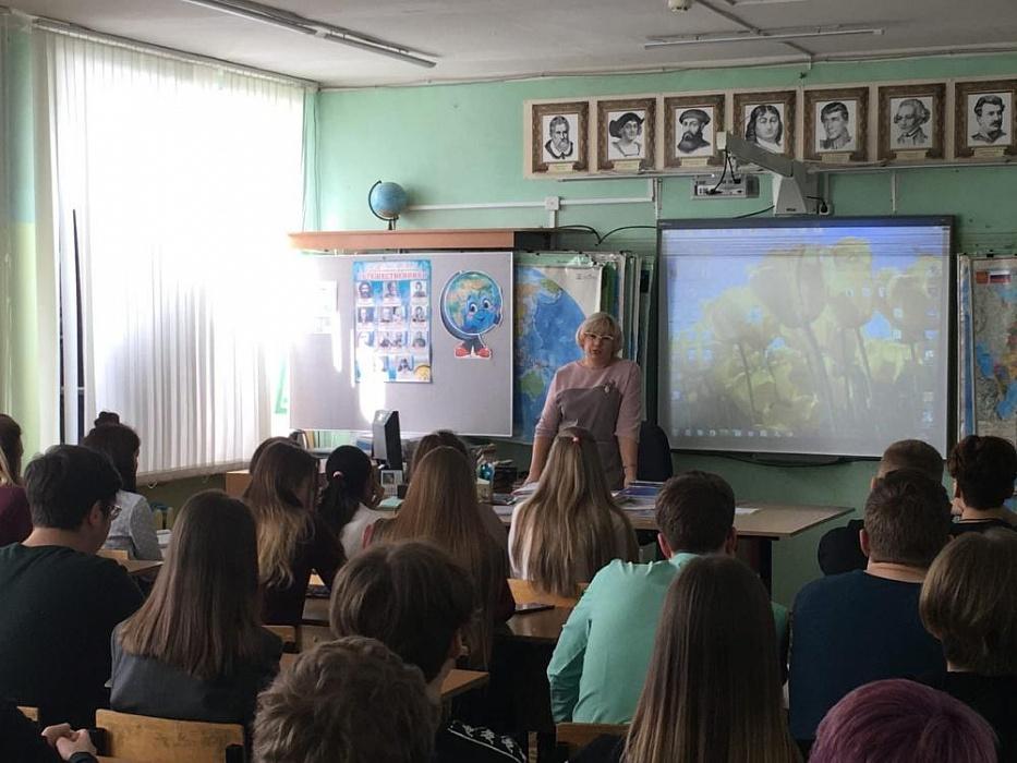 В городе Конаково учащимся рассказали об административной ответственности