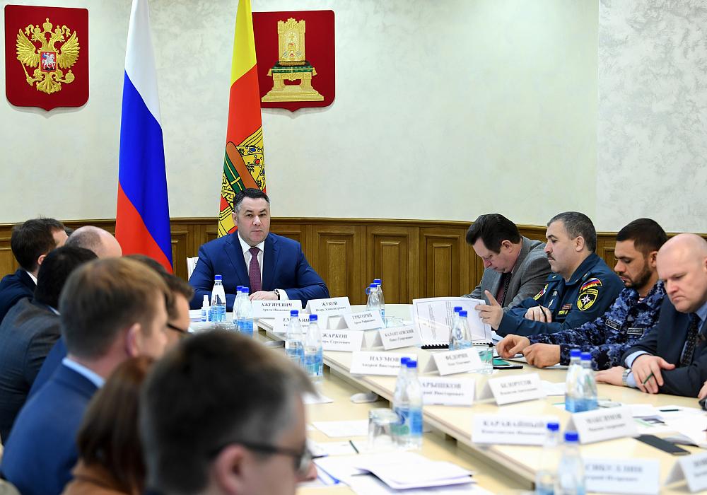 Глава Торопецкого района принял участие в селекторном совещании по вопросам обеспечения пожарной безопасности