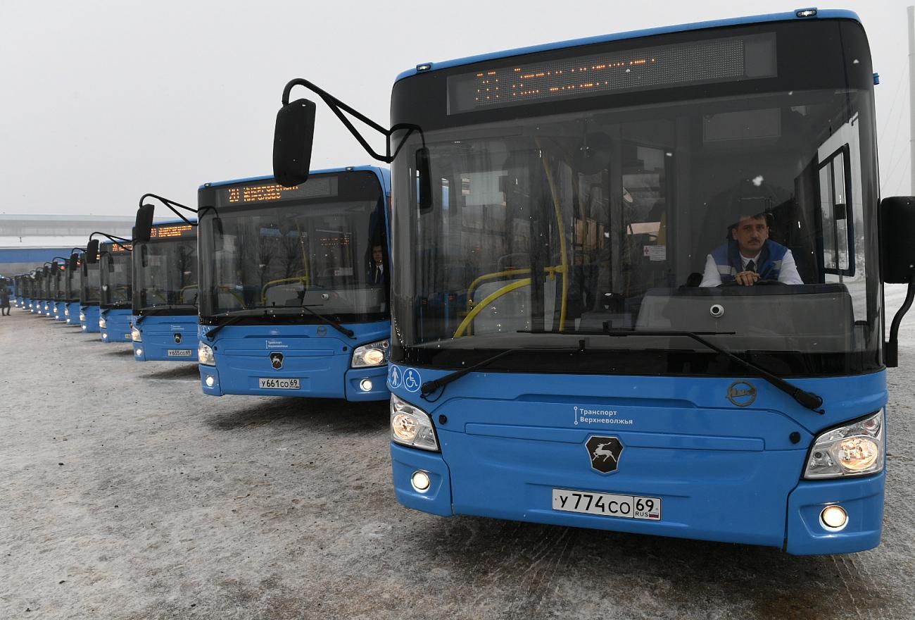 На маршрут №21 «Южный-Мигалово» выйдут большие автобусы