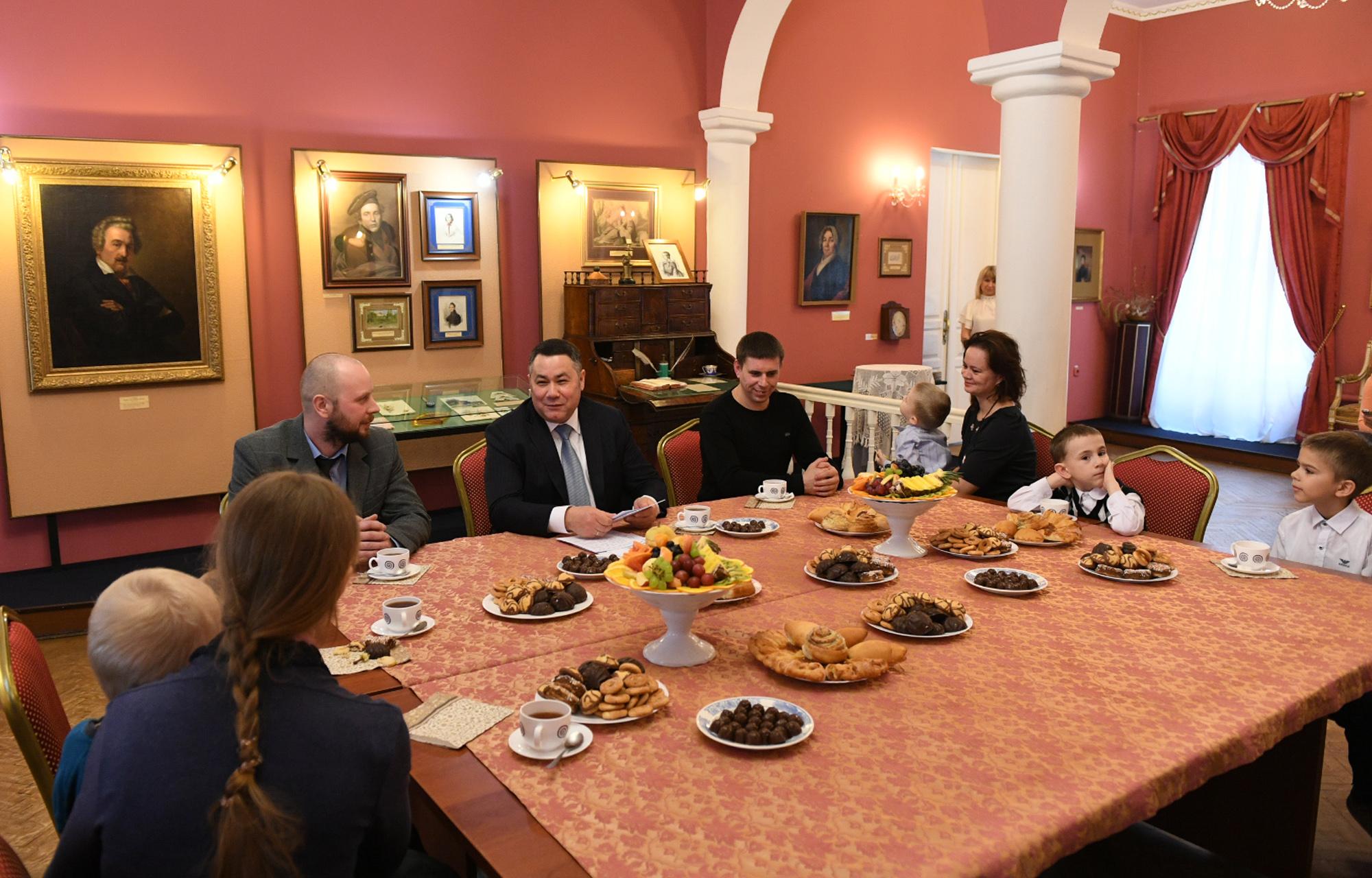 Игорь Рудена обсудил с многодетными семьями новые меры поддержки