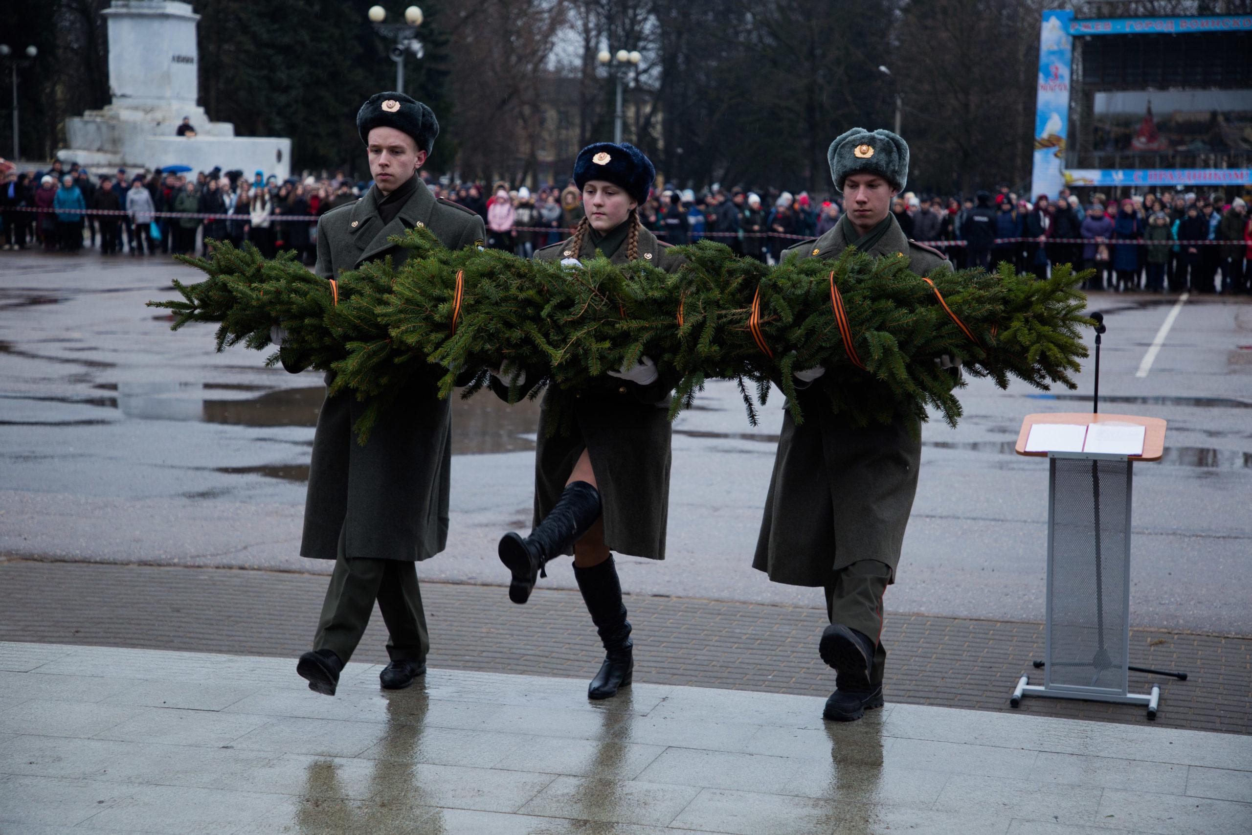 В Ржевском и Зубцовском районах прошли торжества в честь 77-летия со дня освобождения от фашистских захватчиков
