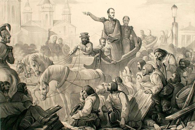 Опыт прошлого: Как царь Николай I сидел на карантине в Твери