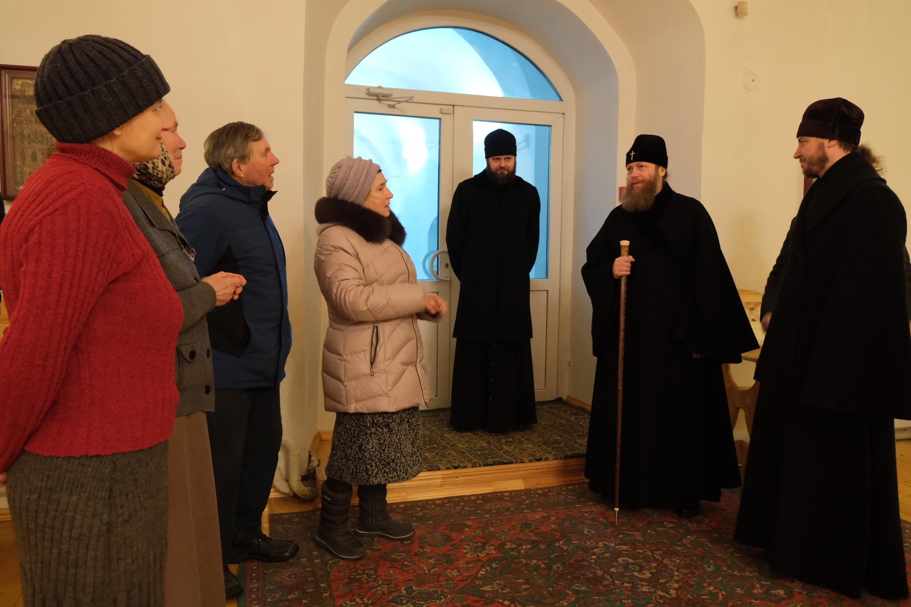 Митрополит Тверской и Кашинский Савва посетил Осташковский городской округ