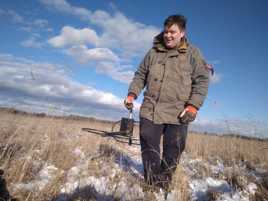 В Тверской области поисковики нашли амуниции и снаряжения времен войны