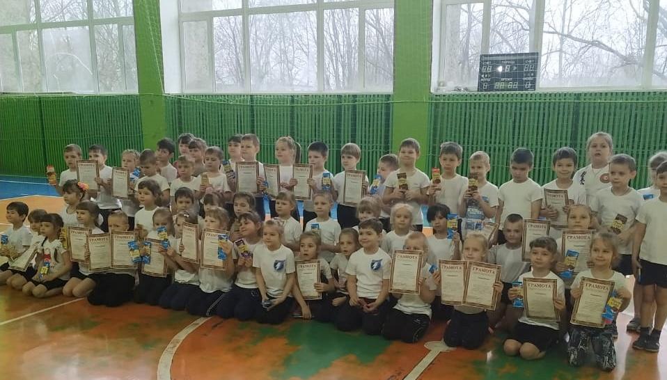 В Торопецком районе дошколята сдавали нормы ГТО