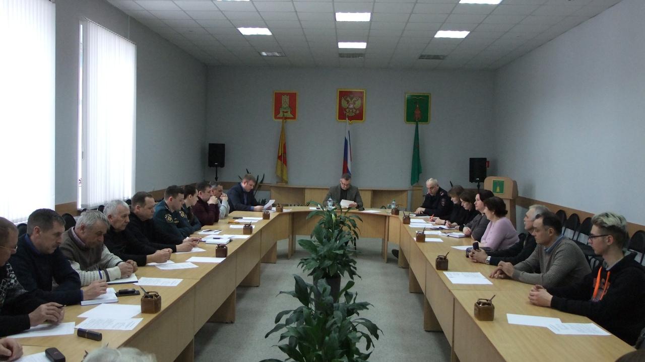 В Торопецком районе прошло заседание комиссии по предупреждению и ликвидации ЧС