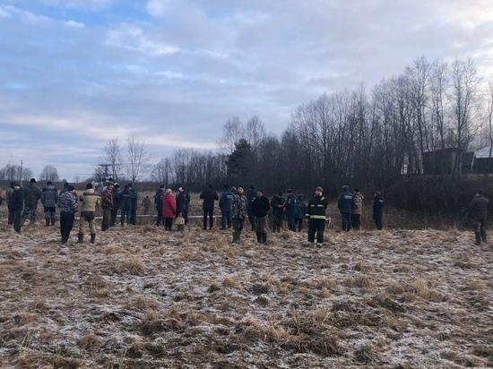 Появилась видео с места, где нашли пропавшую 7-летнюю девочку из Тверской области