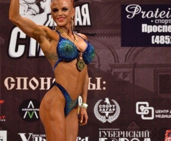 Молодая мама из Твери стала чемпионкой по бодибилдингу