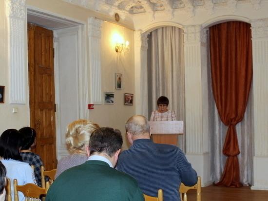 В купеческом доме в Тверской области глава города рассказала о проделанной работе