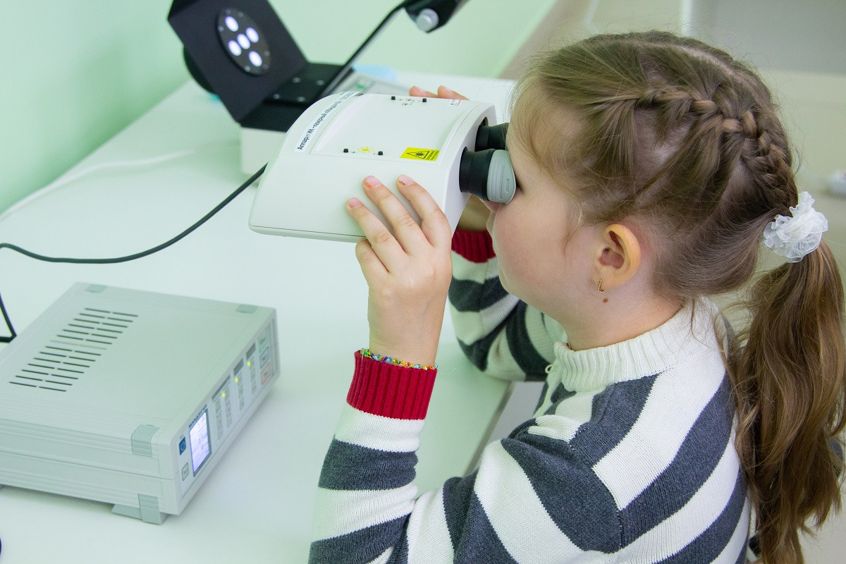 В Твери начал работу новый кабинет охраны зрения детей