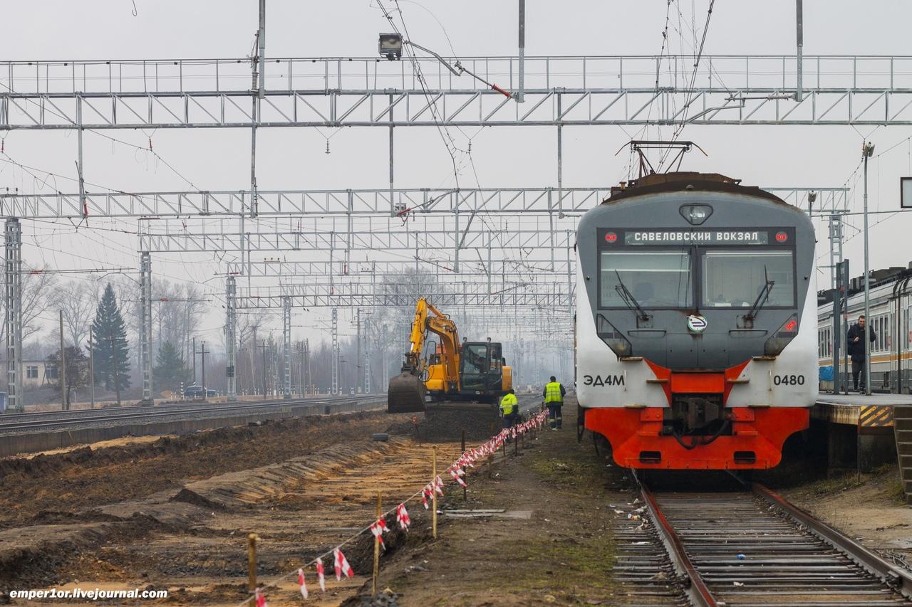 Реконструкция железнодорожной станции в Тверской области продолжается