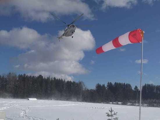Вертолет санавиации экстренно вылетел в Осташков Тверской области